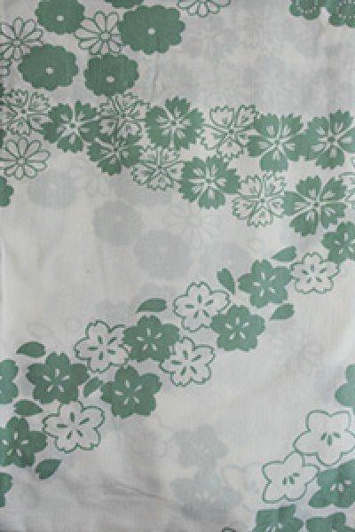 画像1: 花の流れ ホワイト (1)